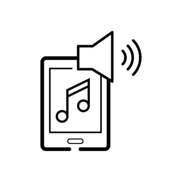 Ilustración de la música de entretenimiento.