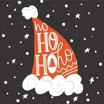 Ilustración de navidad y año nuevo.
