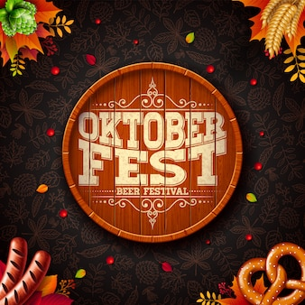 Ilustración oktoberfest