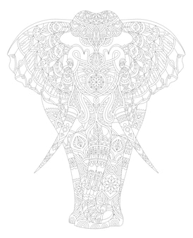 Ilustración de la página adulta de los animales