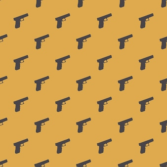 Ilustración de patrón de armas. imagen de estilo creativo y de lujo.