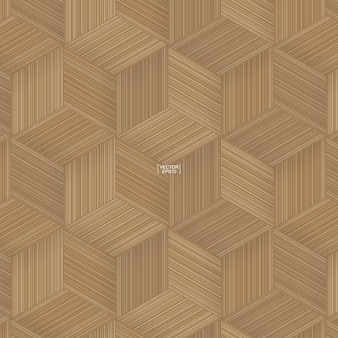 Ilustración de patrón de cestería de bambú