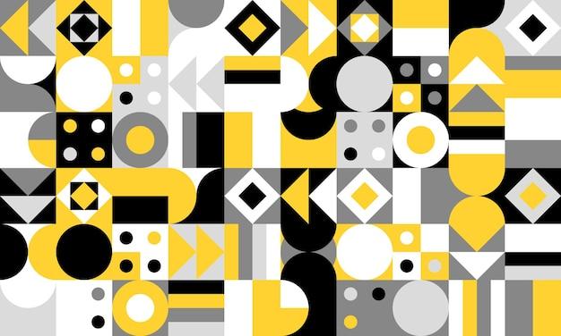 Ilustración de patrón de vector geométrico simple