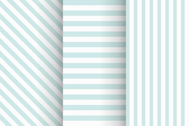 Ilustración de patrones sin fisuras despojados en color azul suave