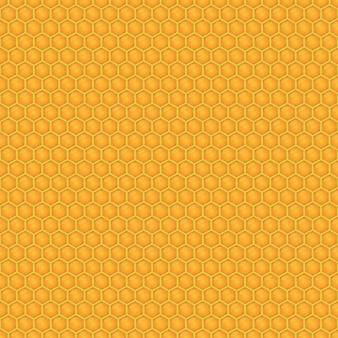 Ilustración de patrones sin fisuras de miel