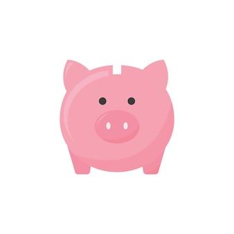 Ilustración de un piggybank