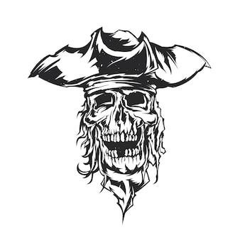 Ilustración pirata