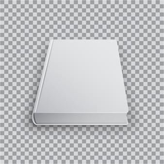 Ilustración de plantilla de libro en blanco 3d