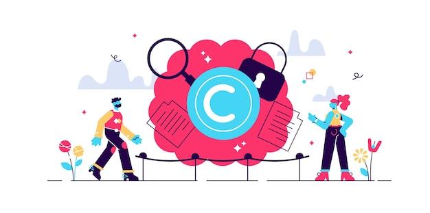 Ilustración de propiedad intelectual