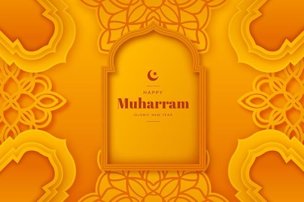 Ilustración realista de muharram