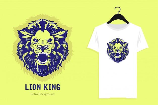 Ilustración del rey león