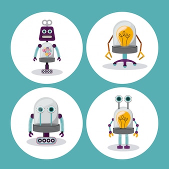 Ilustración robot