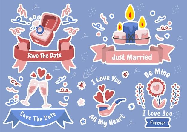 Ilustración de san valentín