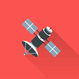 Ilustración del satélite vector gratuito