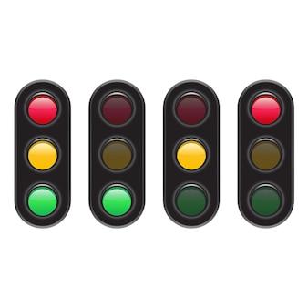 Ilustración de semáforo