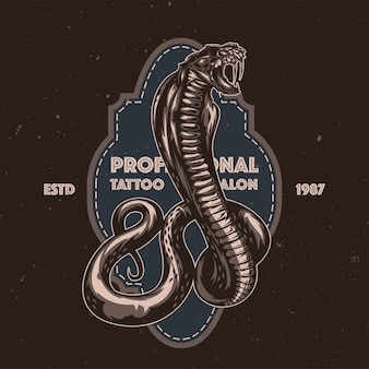 Ilustración de serpiente