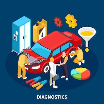 Ilustración de servicio automático