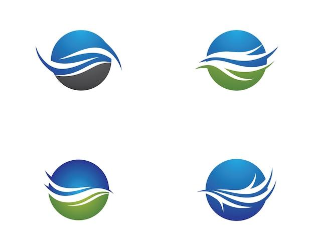 Ilustración de símbolo de onda