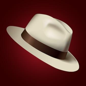 Ilustración de sombrero