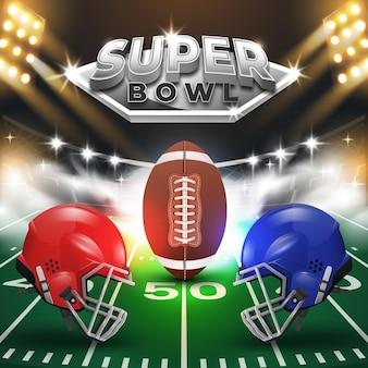 Ilustración del super bowl