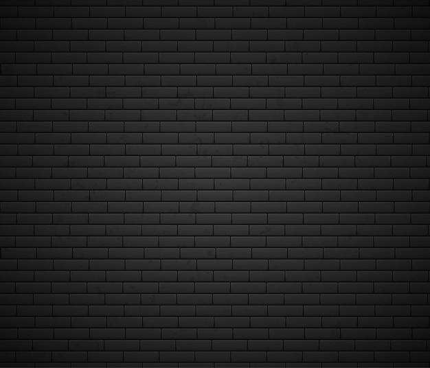 Ilustración de superficie de pared de ladrillo vacía