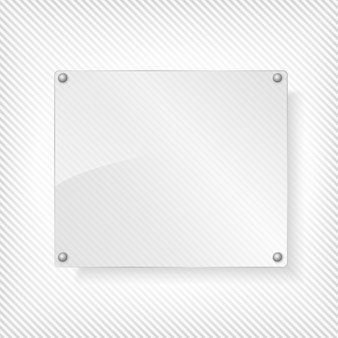 Ilustración de tablero de vidrio