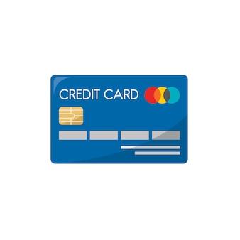 Ilustración de una tarjeta de crédito