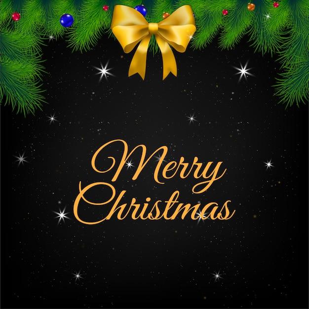 Ilustración de tarjeta de felicitación de navidad.