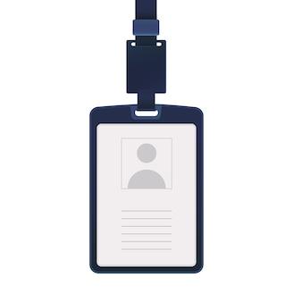 Ilustración de la tarjeta de identidad