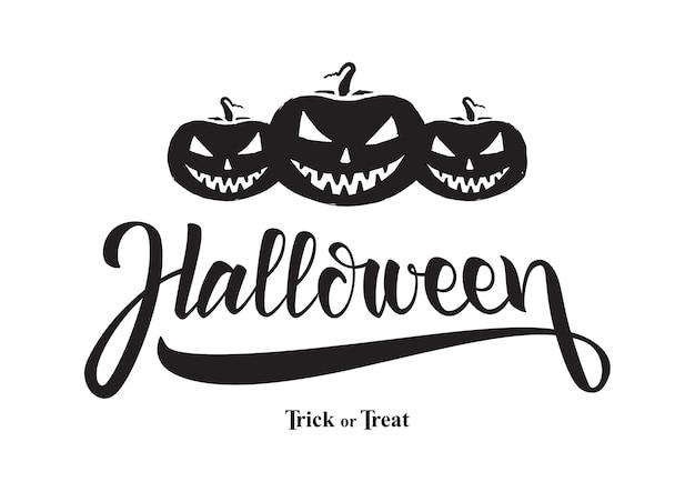 Ilustración temática de halloween