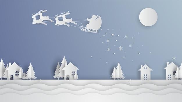 Ilustración temática navideña