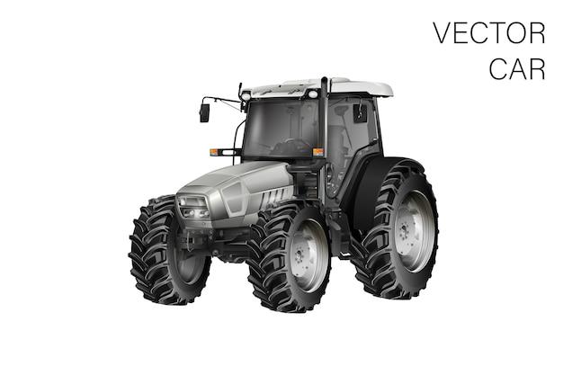 Ilustración de tractor