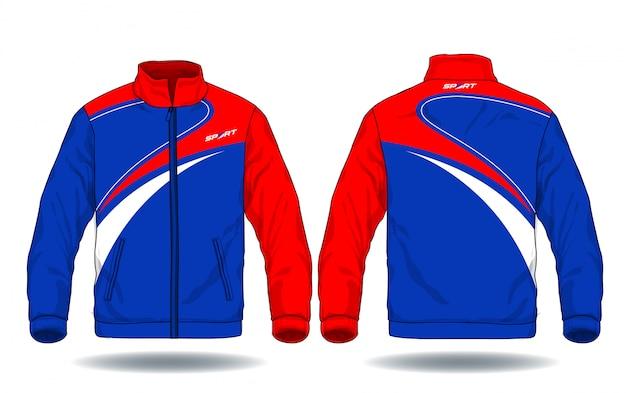 Ilustración de vector de chaqueta de deporte.
