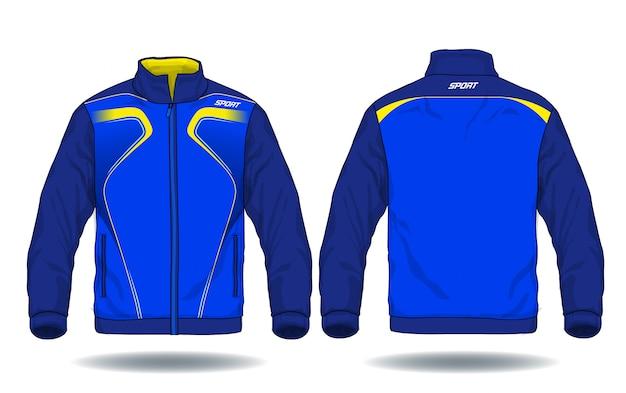 Ilustración de vector de chaqueta deportiva.