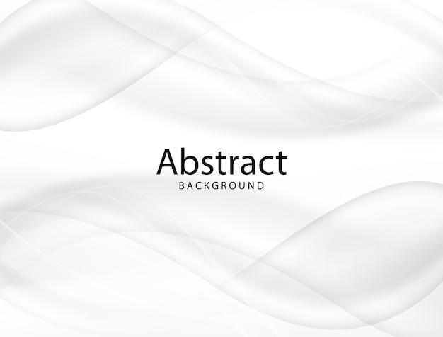 Ilustración de vector diseño de fondo suave abstracto gris y blanco