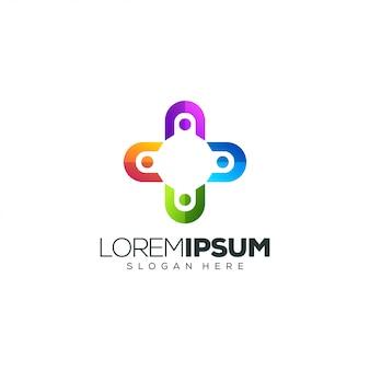 Ilustración de vector de diseño de logotipo de personas