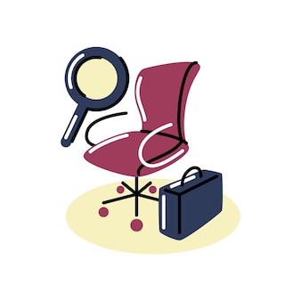 Ilustración de vector de estilo gráfico. arte digital