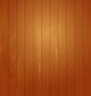 Ilustración de vector de fondo de madera realista