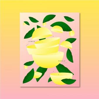 Ilustración de vector de fruta original