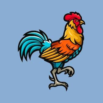 Ilustración de vector de un gallo