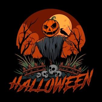 Ilustración de vector de halloween