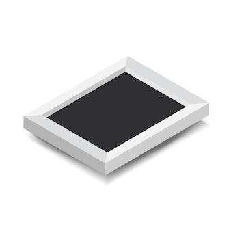 Ilustración de vector de icono de marco de foto