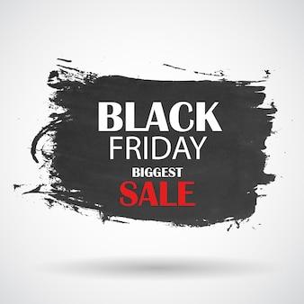 Ilustración de vector de icono de venta de viernes negro. eps10 Vector Premium