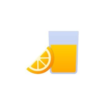 Ilustración de vector de jugo de naranja