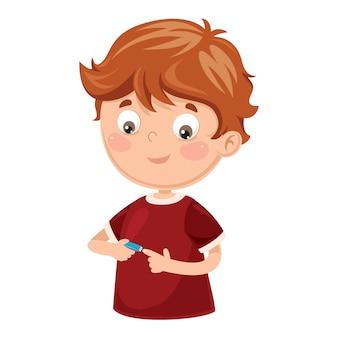 Ilustración del vector de nail clipper