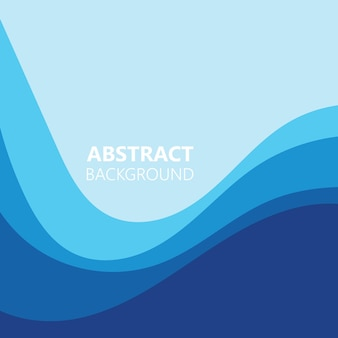Ilustración de vector de onda de color abstracto de fondo