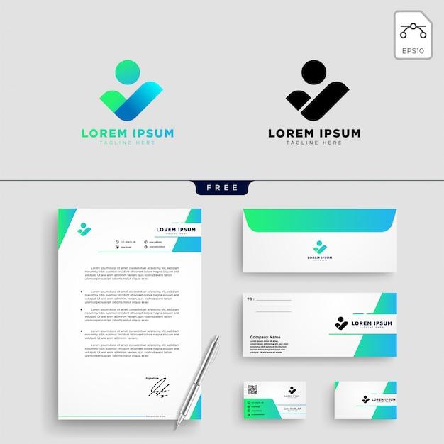 Ilustración de vector de plantilla de logotipo de comunidad de personas