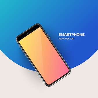 Ilustración de vector de smartphone moderno