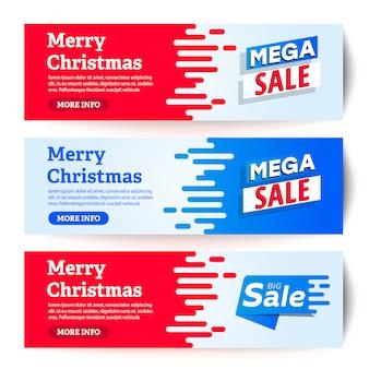 Ilustración de vector de tarjeta de felicitación de navidad