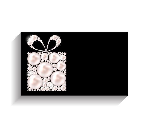 Ilustración de vector de tarjeta de visita de empresa